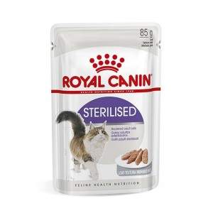Royal Canin Sterilised Loaf, 12 plicuri x 85 g