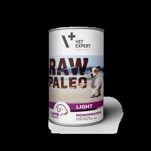 Hrana umeda, RAW PALEO Light, adult, miel, 400 g