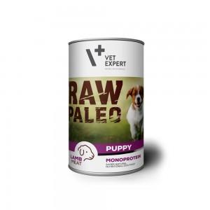 Hrana umeda, RAW PALEO Puppy, carne de miel, 400 g