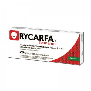 Rycarfa Flavour 50 mg, 20 tablete
