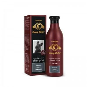 Sampon Champ Richer Caini Blana Neagra, 250 ml