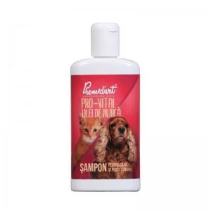 Sampon Pro Vital cu Ulei de nurca, caini si pisici, 200 ml