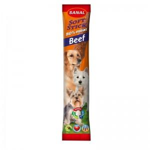 Sanal Dog Softstick Beef, 12 g