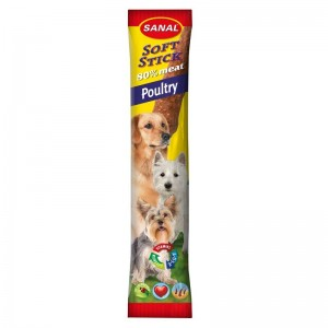 Sanal Dog Softstick Chicken, 12 g