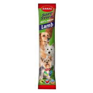 Sanal Dog Softstick Lamb, 12 g