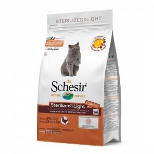 Schesir Sterilised Monoprotein Pui, 400 g