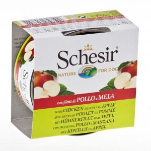 Schesir Dog Fruit Pui/ Mere, 150 g