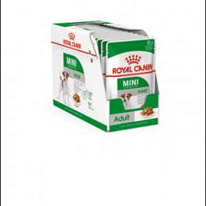 Royal Canin Mini Adult, 12 plicuri X 85 g
