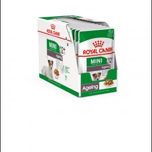 Royal Canin Mini Ageing 12+, 12 plicuri X 85 g