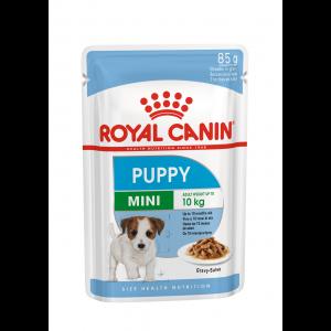 Royal Canin Mini Puppy, 12 plicuri X 85 g