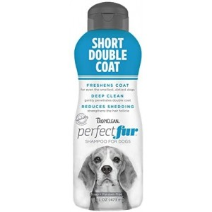 Perfect Fur Short Double Coat Shampoo for Dogs, 473 ml