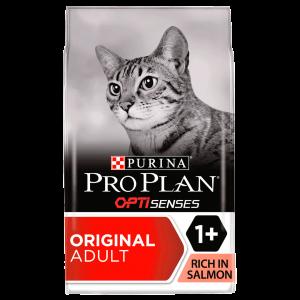 PRO PLAN, Vital Senses Adult Cat Salmon, 1.5 kg - punga