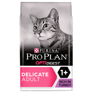 PRO PLAN, Sensitive Digestion Delicate Cat Turkey, 400 g - punga