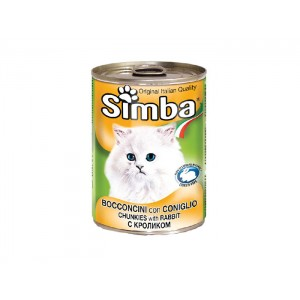 Simba Pisica Conserva Iepure 415 g