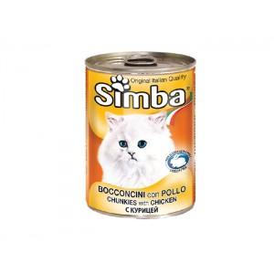 Simba Pisica Conserva Pui 415 g
