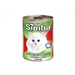 Simba Pisica Conserva Vitel 415 g