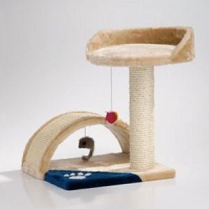 Sisal pentru Pisici Trendy Crem 35x35x85 cm
