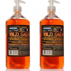 Nutrivet Ulei de Somon 500 ml (2X250 ml)