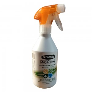 Repelent insecte, Pet Natura StayGuard Spray, 500 ml