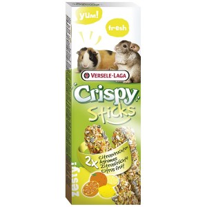 Sticks chinchilla si porcusori, Versele Laga citrice, 2x55g