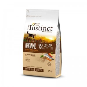 True Instinct Cat Original Sterilised Adult cu Somon, 1.25 kg