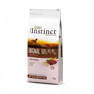 True Instinct Dog Original Medium - Maxi Adult cu miel, 12 kg