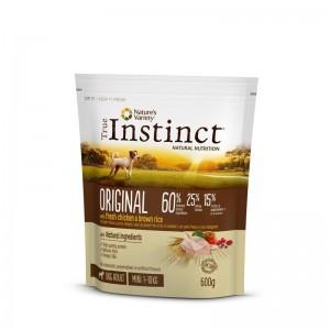 True Instinct Dog Original Mini Adult cu pui, 600 g