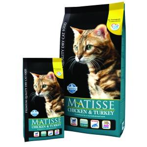 Matisse Original Cat Adult Curcan si Pui 1.5 Kg