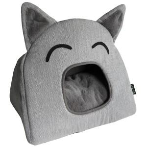 Culcus pentru pisici, TeePee, 52x36x45 cm