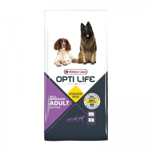Versele Laga Opti Life Adult Active All Breeds, 12.5 kg