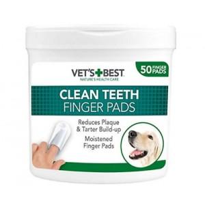 Vet's Best Dental Wipes, 50 bucati