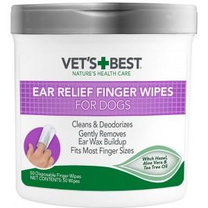 Vet's Best Ear Wipes, 50 bucati