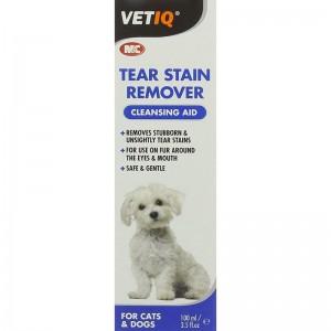 Vetiq Tear Stain Remover 100 ml formulă delicată