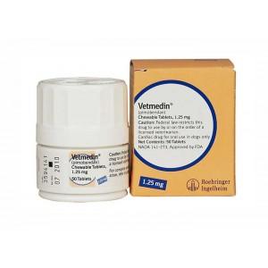Vetmedin 1.25 mg 100 tb- Farmacie - Afectiuni Cardio-Circulatorii Caini