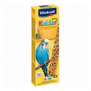 Batoane pentru perusi, Vitakraft Kracker Banana, 60 g