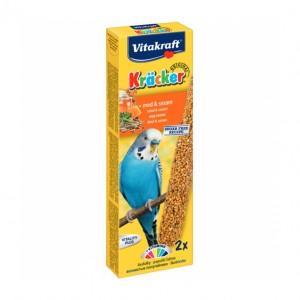 Batoane pentru perusi, Vitakraft Kracker Miere, 60 g