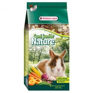 Hrana completa iepuri, Versele-Laga Cuni Junior Nature, 750 g