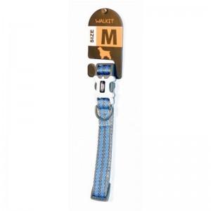 Walkit Special Twill Weaved Zgarda caine gri albastru (M) 2 x 35 - 50 cm