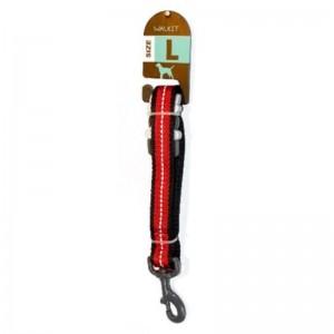 Walkit Twill Weaved Lesa caine rosu (S) 2.5 x 100 cm