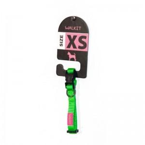 Walkit Zgarda caine verde (XS) 1 x 20 - 30 cm