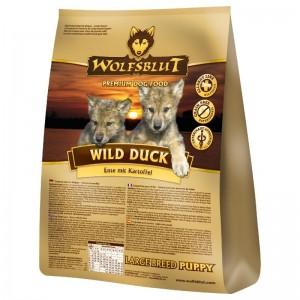 Wolfsblut Wild Duck Large Breed Puppy, 15 kg