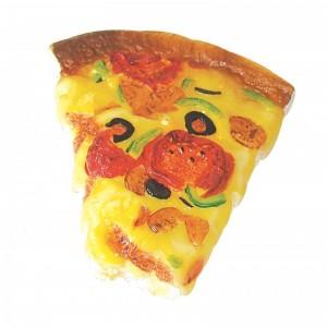 Jucarie pizza din vinil, Mon Petit Ami, 14x12x3 cm