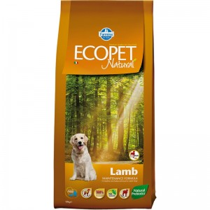 Ecopet Natural Dog Adult Maxi Miel si Orez 12 Kg