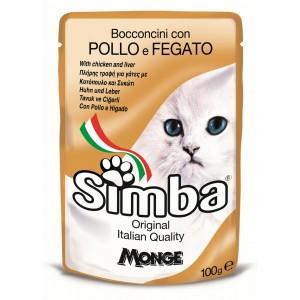 Simba Cat Plic Pui/ficat 100 G