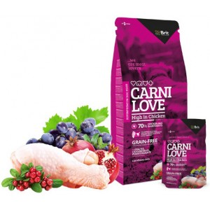 CARNILOVE HIGH IN CHICKEN 1,5 Kg