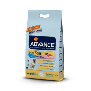 Advance Dog Mini Sensitive Somon & Orez 7,5 kg