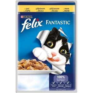 Felix fantastic pui Plic 100 g