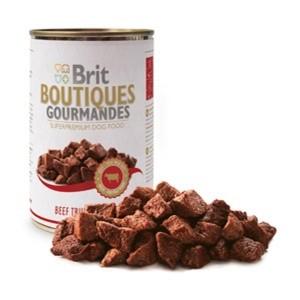 Brit Boutiques Gourmandes bucatele de Vita in sos 400 gr