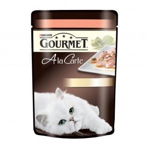 Gourmet A LA CARTE Somon si Legume 85 g