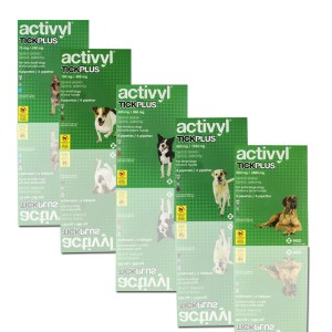 Activyl tick plus Toy (0-5kg) cutie 4 pipete